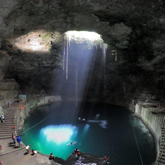 Cenote Zaci Valladolid Merida