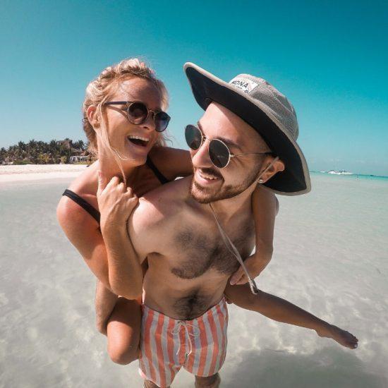 Personas Playa Holbox