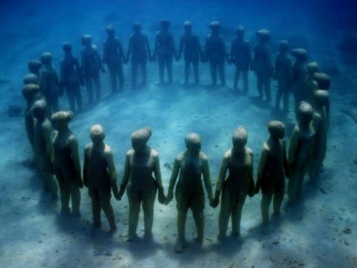 Isla Mujeres Museo Subacuatico