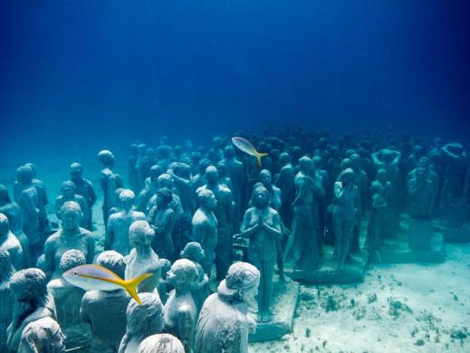 Isla Mujeres Musa esculturas