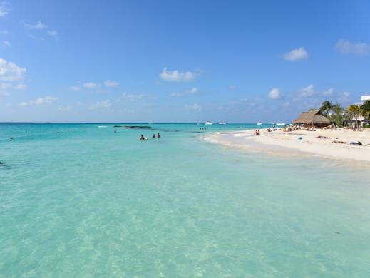 Isla Mujeres Playa norte lugar