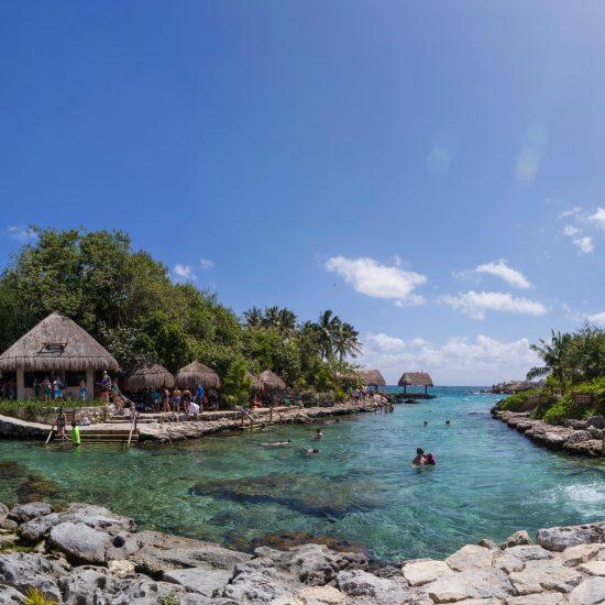 Parque Xcaret Caleta para snorkel