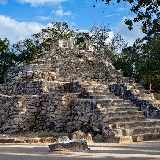 Parque Xcaret Zona Arqueológica autentica