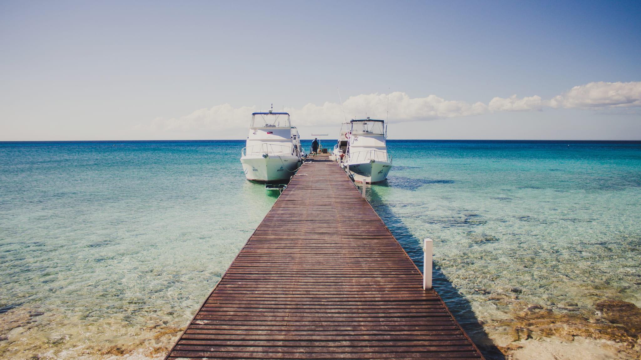 Muelle Playa Puerto Morelos