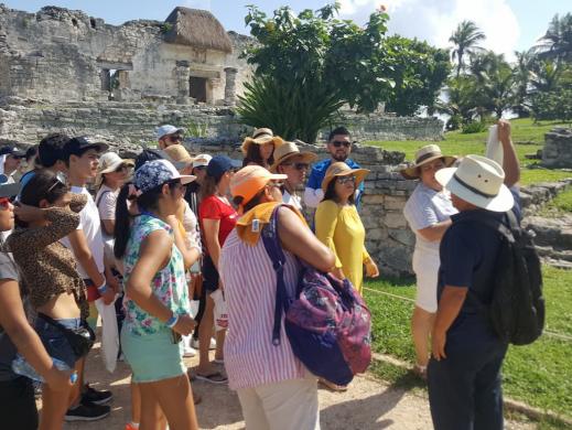 Tour Guiado Tulum zona arqueológica maya