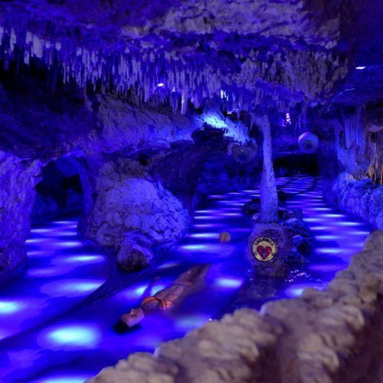 Parque Xenses Riolajante subterraneo
