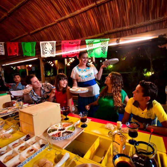 Xoximilco Cancún degustaciones