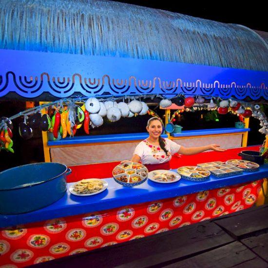 Xoximilco Cancún Comida Mexicana