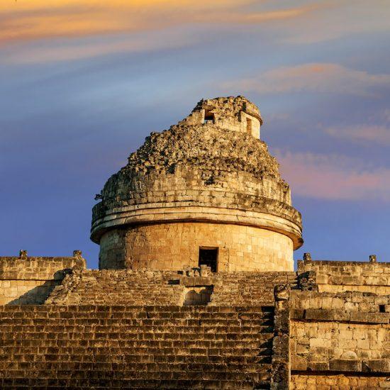 Chichen Itza edificio observatorio