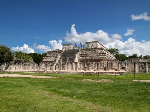 Chichen Itza templo de las mil columnas