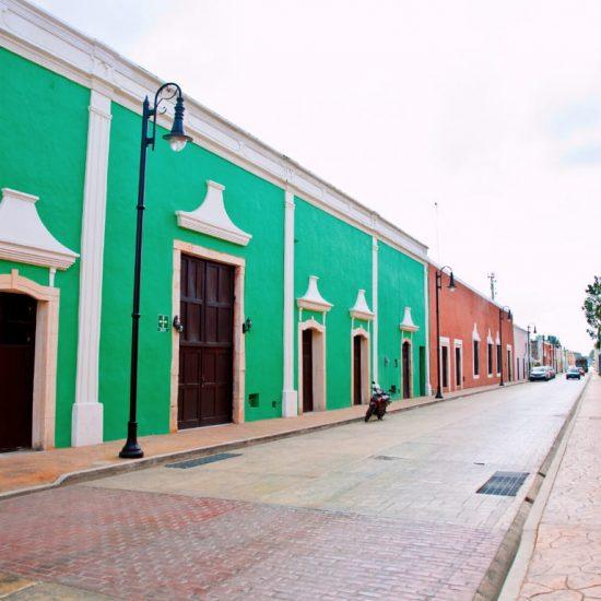 Calle Principal Valladolid Merida