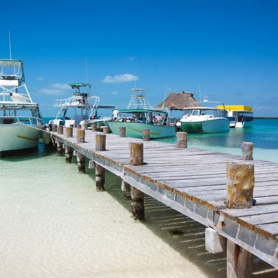 Tour isla Contoy barco