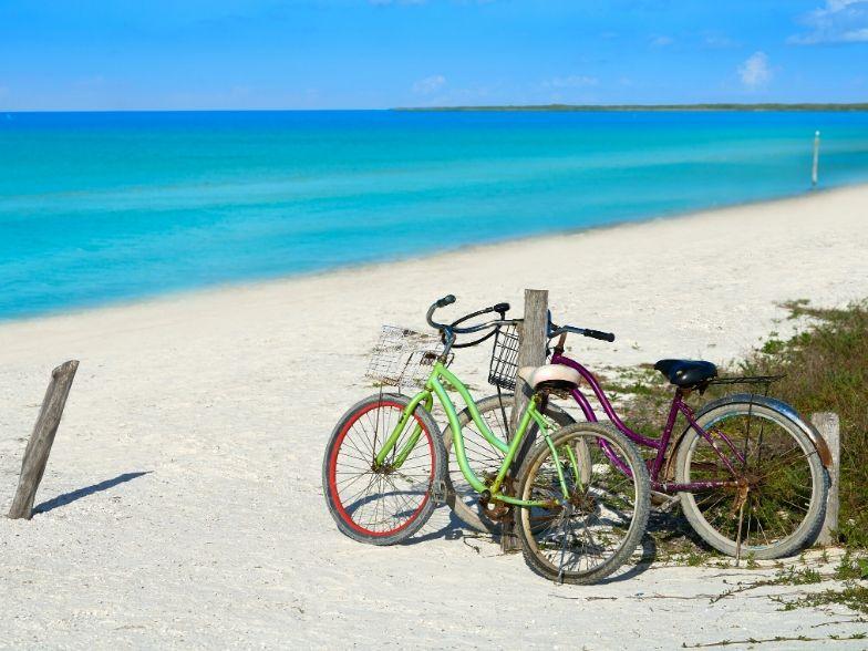 Isla Holbox bicicletas