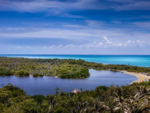 Isla Contoy laguna