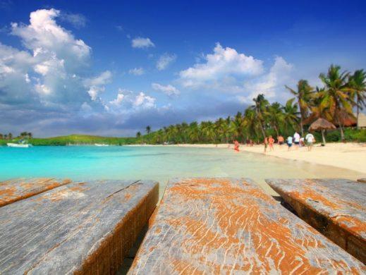Isla Contoy muelle