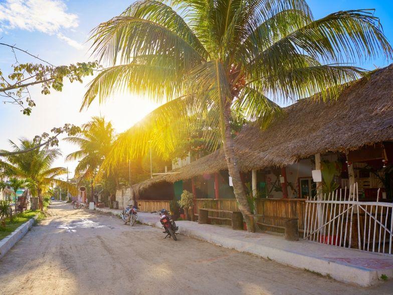 Isla Holbox calles