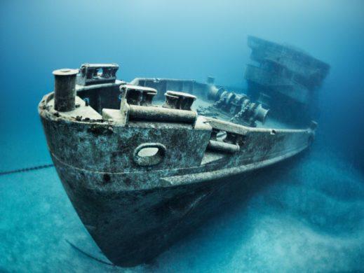 Barco hundido Cozumel